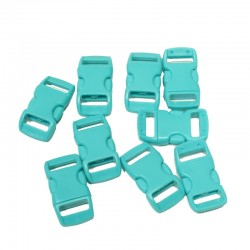 3/8 IN -Turquoise - Side...