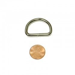1 IN Welded Steel D Ring Tall