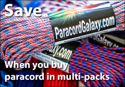 save on paracord multi-packs