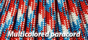 paracord multi-colored