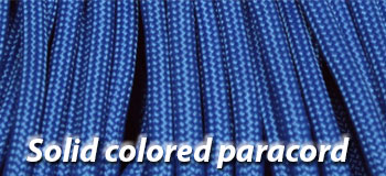 paracord solid colors